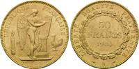 50 Francs 1904 A, Frankreich, Dritte Republik, 1871-1940, Kr., vz+  1320,00 EUR kostenloser Versand