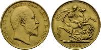 Sovereign 1910, Australien, Eduard VII., 1901-1910, kl.Kr., kl.Rdf., vz+  415,00 EUR kostenloser Versand