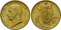 100 Lire 1931 R, Italien, Vittorio Emanuele III., 1900-1946, kl.Kr., vz... 725,00 EUR kostenloser Versand