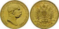 10 Kronen 1908, Ungarn, Haus Habsburg, Franz Joseph I., 1848-1916, fein... 190,00 EUR kostenloser Versand