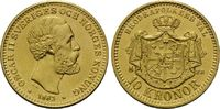 10 Kronen 1883, Schweden, Oskar II., 1872-1907, min.Kr., f.st  210,00 EUR kostenloser Versand