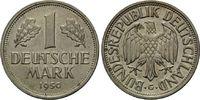 Mark 1950 G, Bundesrepublik Deutschland, Kleinmünze, bankfrisch  70,00 EUR kostenloser Versand