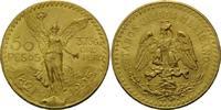 50 Pesos 1925, Mexiko, Centenario, kl.Kr., vz+  1750,00 EUR kostenloser Versand