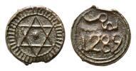 4 Falus AH 1289=1872, Marokko, Mohammed IV., 1859-1873, ss  16,00 EUR  zzgl. 6,40 EUR Versand