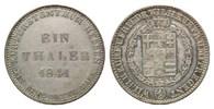 Hessen-Kassel, Taler 1841 ss Wilhelm II. und Friedrich Wilhelm, 1831-1847, 145,00 EUR  zzgl. 6,40 EUR Versand