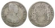 2 Reales 1805 TH Mexiko, Karl IV., 1788-1808, f.ss  23,00 EUR  zzgl. 6,40 EUR Versand