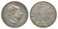 1/2 Gulden 1852 A Hohenzollern-Sigmaringen, Friedrich Wilhelm IV. von P... 159,00 EUR  zzgl. 6,40 EUR Versand