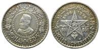 500 Francs 1376 AH =1956, Marokko, Mohammed V., 1927-1955, ss  31,00 EUR kostenloser Versand