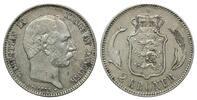 2 Kronen 1875, Dänemark, Christian IX., 1863-1906, vz/ss  75,00 EUR kostenloser Versand
