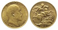 Kanada, Sovereign 1910 C, 7,97g, Edward VII., 1901-1910,