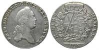 Konventionstaler 1776 EDC, Sachsen, Friedrich August III., 1763-1806, f... 325,00 EUR kostenloser Versand