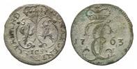 Groschen 1763, Kurland, Ernst Johann Biron, 1763-1769, f.ss-ss  130,00 EUR kostenloser Versand