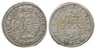 1/12 Taler 1693 1693, Sachsen, Johann Georg IV., 1691-1694, ss  36,00 EUR kostenloser Versand