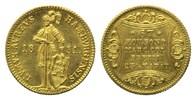 Dukat 1851, Hamburg, Freie und Hansestadt, vz-st  985,00 EUR kostenloser Versand