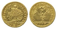 Vatikan, Doppia =30 Paoli 1786, Rom. 5,33g  GOLD, f.ss/ss Pius VI., 1774... 675,00 EUR 