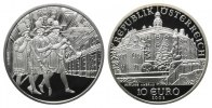 &Ouml;sterreich, 10 Euro 2002,  PP in Kapsel Schloss Ambras, 55,00 EUR 