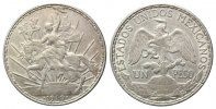 Mexiko, Peso 1910,  ss Reiter, 59,00 EUR 