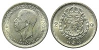 Schweden, 2 Kronen 1945 G,  vz Gustaf V., 1907-1950, 20,00 EUR 