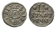 Hildesheim, 2 Stadtpfennig 1716,  ss Stadt, 45,00 EUR 