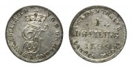 Mecklenburg-Schwerin, Dreiling 1829,  vz Friedrich Franz I., 1785-1837, 30,00 EUR 