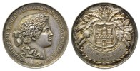 Silbermedaille o.J.(Grav.1881) Hamburg, Preismedaille des Gartenbauvere... 96,00 EUR  zzgl. 6,40 EUR Versand