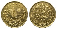 250 Kurush 1293/32 =1906, Türkei, Abdul Hamid II., 1876-1909, kl.Kratze... 1295,00 EUR kostenloser Versand