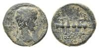 AE 19  Röm. Reich, Augustus, 27 v.-14 n.Chr., grüne Patina, ss  125,00 EUR kostenloser Versand