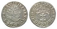 Groschen 1539, Danzig, Sigismund I., 1506-1548, ss-vz, prägeschw.  89,00 EUR kostenloser Versand