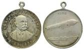 Trag., versilb. Bronzemed. 1908, Deutschland, 70. Geburtstag Graf Zeppe... 25,00 EUR kostenloser Versand