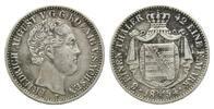 1/3 Taler 1854 F Sachsen, Friedrich August II., 1836-1854, ss  69,00 EUR  zzgl. 6,40 EUR Versand