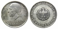 Weimarer Republik, 5 Mark 1929 A, Lessing,