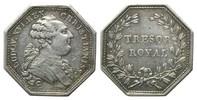 Jeton v. Du Vivier, o.J., Frankreich, Ludwig XVI., 1774-1792, Tresor Ro... 90,00 EUR85,00 EUR kostenloser Versand