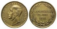 Medaille v. Jauner, 1866, Hannover, Georg V., 1851-1866, ss-vzm, Hsp.  79,00 EUR kostenloser Versand