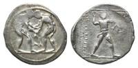AR Stater 4.Jh.v.Chr., Pamphylien, Stadt A...