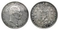 2/3 Taler 1839 Mecklenburg-Schwerin, Paul Friedrich, 1837-1842, ss  85,00 EUR  zzgl. 6,40 EUR Versand