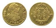 1/2 Escudo 1786 DV Spanien, Karl III., 1759-1788, ss  185,00 EUR180,00 EUR kostenloser Versand