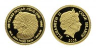 Cook Islands, Dollar 2010,  PP Indian Head, 39,00 EUR