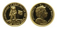 Isle of Man, 1/25 Crown 2008,  PP Man on the Moon, 58,00 EUR