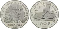 100 Francs = 15 Ecus 1991 Frankreich, Bedeutende Europäer - Descartes, ... 34,00 EUR27,00 EUR  zzgl. 6,40 EUR Versand