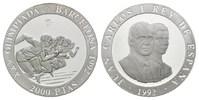 2000 Pesetas 1992, Spanien, Olympische Spiele in Barcelona - Fünf Sprin... 30,00 EUR25,00 EUR  zzgl. 6,40 EUR Versand