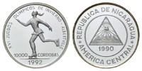 10000 Cordobas 1990, Nicaragua, Olympische Spiele in Albertville 1992 -... 25,00 EUR kostenloser Versand