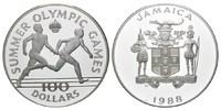 100 Dollars 1988 Jamaica, Olympische Spiele in Seoul 1988 - Staffelläuf... 165,00 EUR160,00 EUR kostenloser Versand