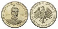 Neusilber-Medaille o.J., Deutschland, Gedenkprägung auf Wilhelm II. Deu... 8,00 EUR  zzgl. 6,40 EUR Versand