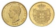 5000 Reis 1889 Portugal, Ludwig I., 1861-1...
