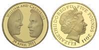 5 Pfund 2011 Großbritannien, Hochzeit William und Kate am 29.04.2011. V... 100,00 EUR65,00 EUR kostenloser Versand
