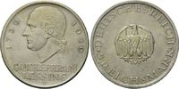 5 Mark 1929 J Weimarer Republik, Lessing, f.st  265,00 EUR  zzgl. 9,40 EUR Versand