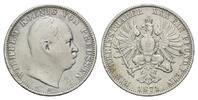Vereinstaler 1871 A, Preussen, Wilhelm I., 1861-1888, s-ss  59,00 EUR  zzgl. 6,40 EUR Versand