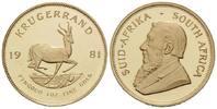 Krügerrand 1981, Südafrika, Republik, seit 1961, l.ber. PP  1470,00 EUR kostenloser Versand