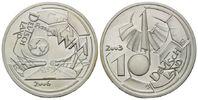 10 Mark Probeprägung 2003 BRD, Victor Huster - Fußball-WM in Deutschlan... 168,00 EUR kostenloser Versand