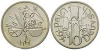 10 Mark Probeprägung 1999 BRD, Victor Huster - 50 Jahre Grundgesetz, st  168,00 EUR kostenloser Versand